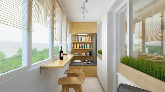 Как сделать балкон функциональным?