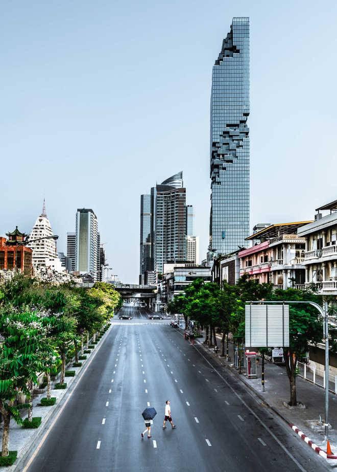 «Пиксельный» небоскреб немецкого архитектора стал самым высоким зданием в Таиланде