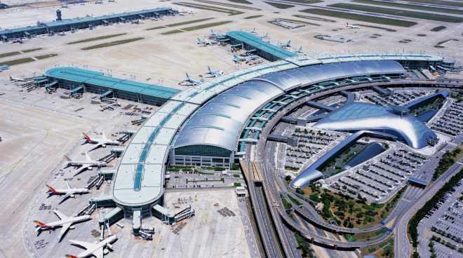 Международный аэропорт Инчхон (Incheon), Южная Корея