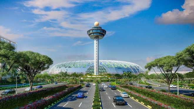 1. Аэропорт Чанги (Changi), Сингапур