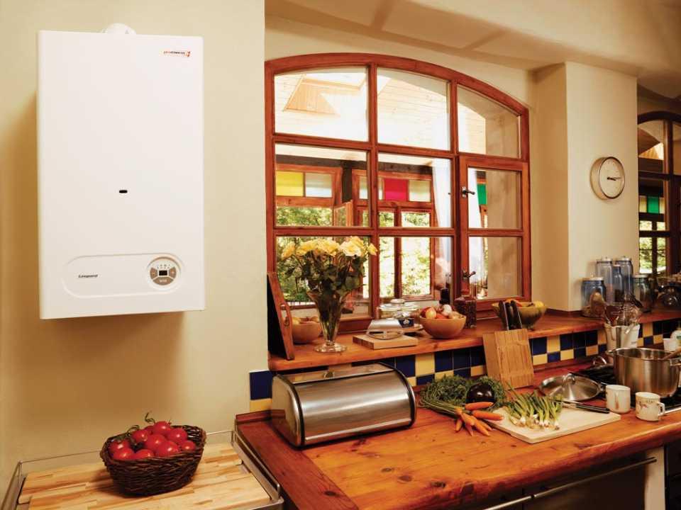 Навесной котел для отопления дома