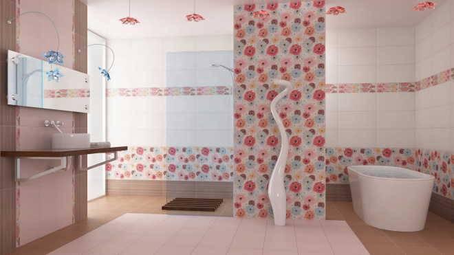Виды отделочных материалов для ванной комнаты