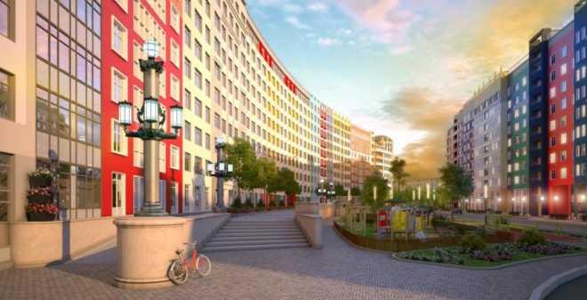 Новостройки вокруг Петербурга - малоэтажные жилые комплексы