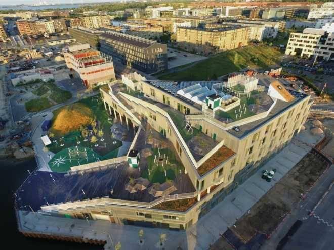 Школа South Harbour в Копенгагене