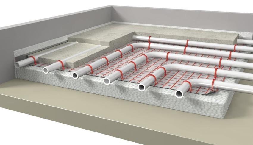 Самостоятельная установка теплого водяного пола