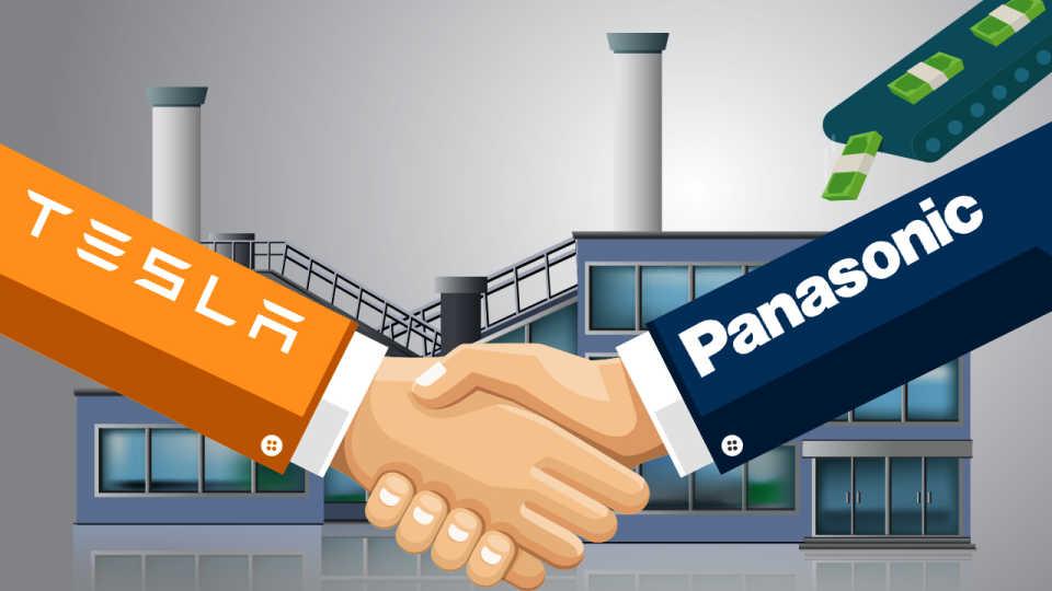 Tesla и Panasonic заключают «солнечный» альянс