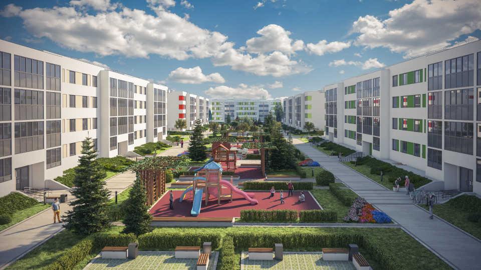 Квартиры в новостройке с развитой инфраструктурой