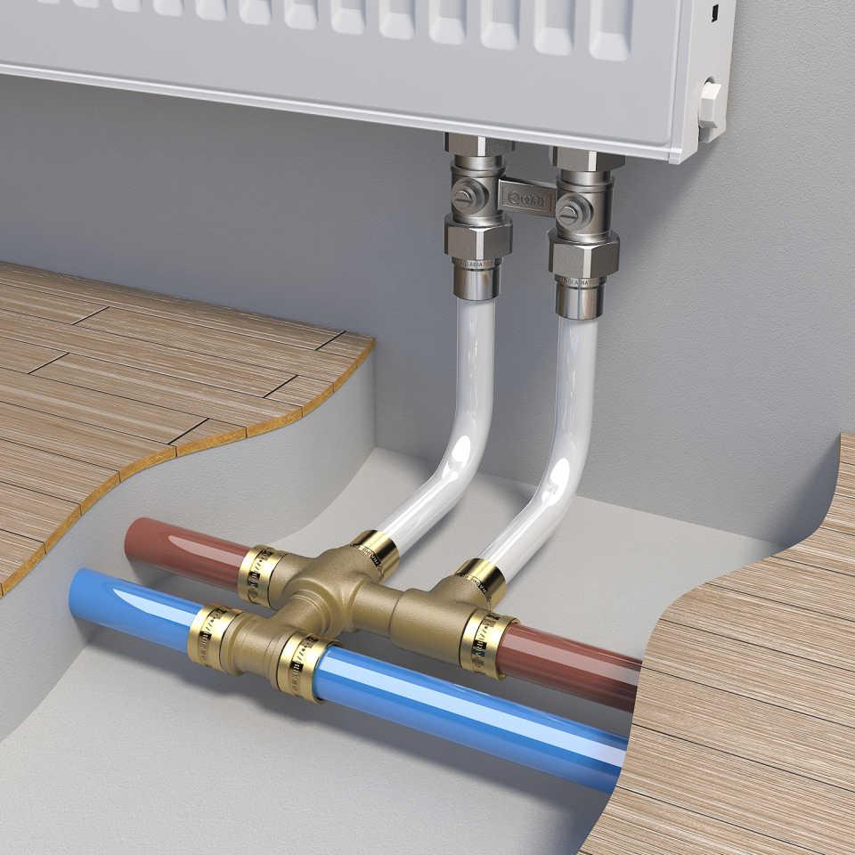 Методы правильной пайки водопроводных труб из полипропилена