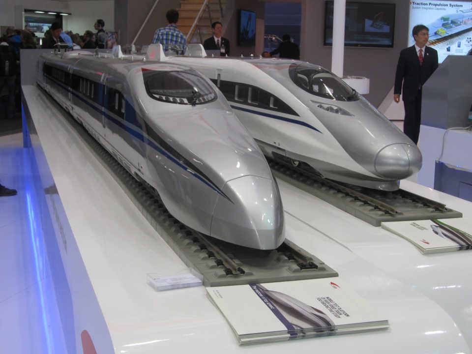 Китай демонстрирует двухъярусный «межконтинентальный» поезд для линии Пекин-Берлин