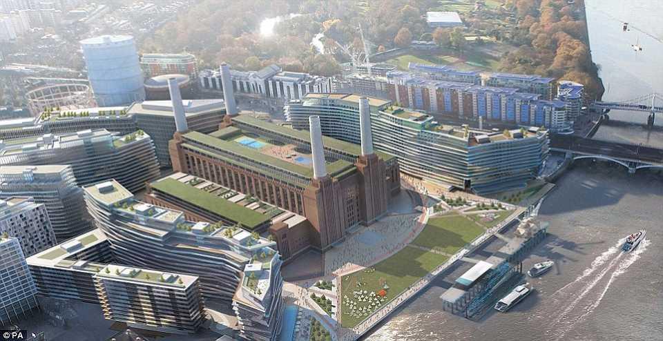 Проект ревитализации электростанции Баттерси (Battersea)