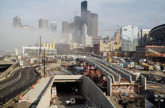 В США строится первый мост, способный прогибаться при землетрясении
