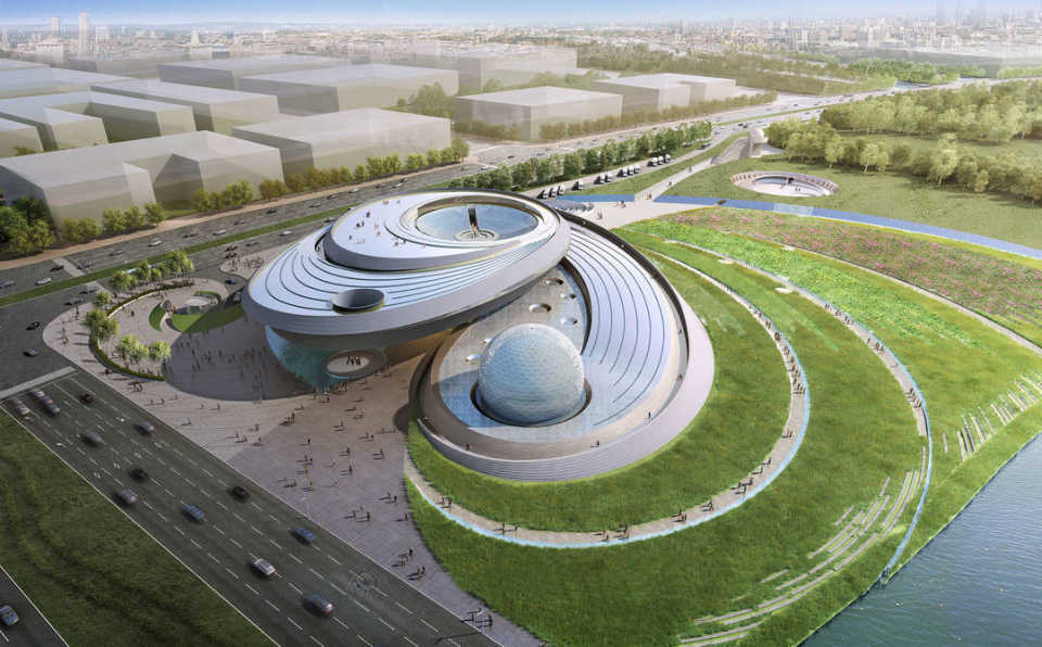Шанхайский планетарий «объяснит наше место в огромной непознанной Вселенной»