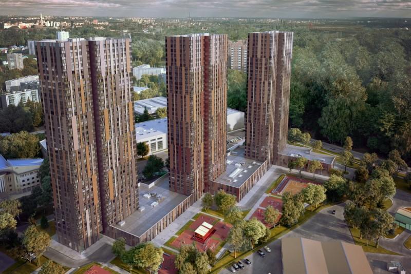 ЖК «Маяковский»: недвижимость на Водном Стадионе