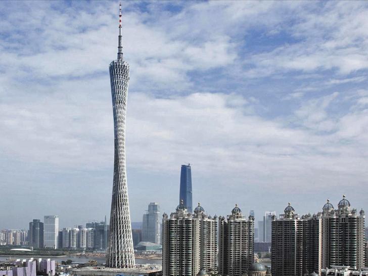 10 самых высоких зданий и сооружений Китая