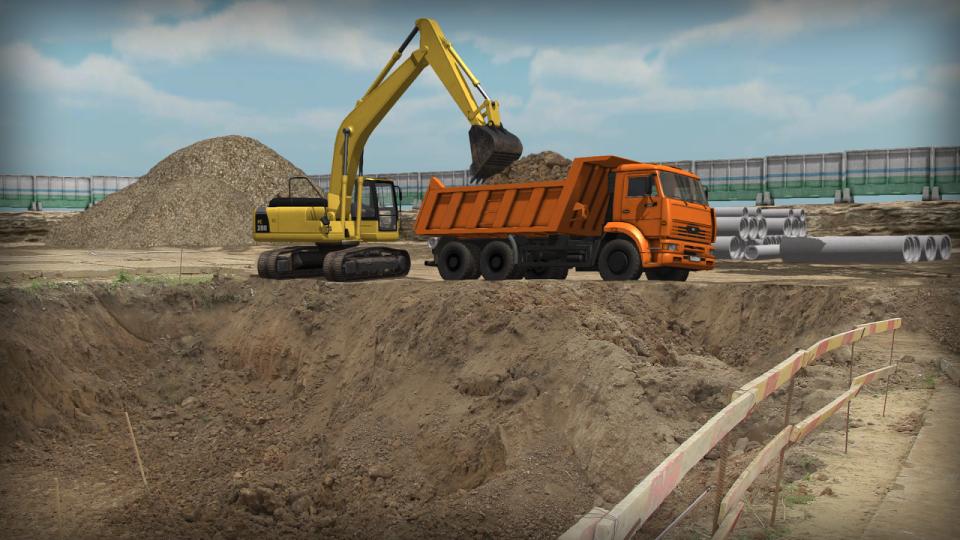 Инженерная подготовка территории строительства: расчистка территории