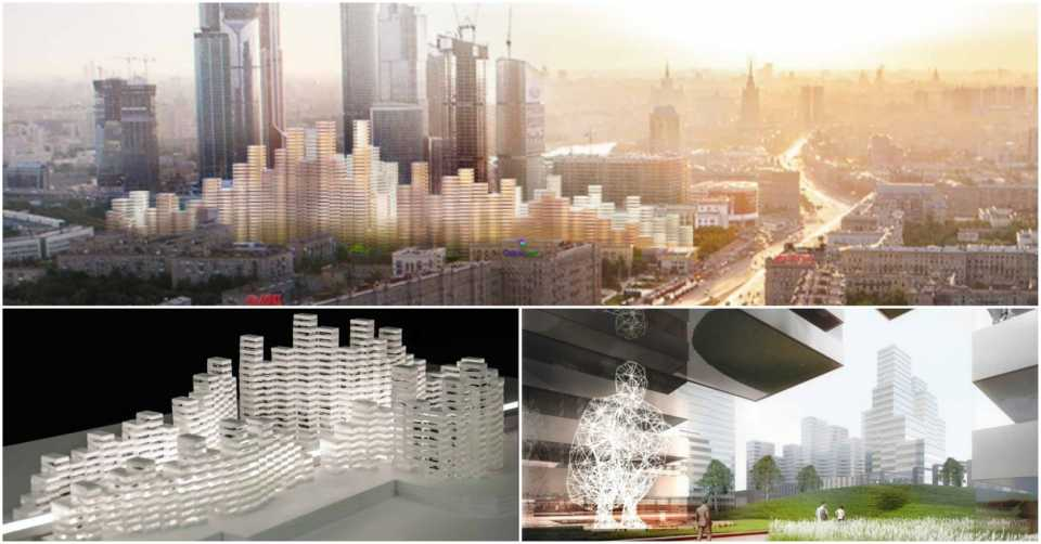 Кенго Кума представил проект жилого супер-комплекса для Москвы