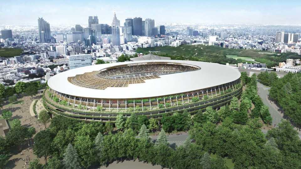 В Токио началось строительство олимпийского стадиона по проекту Кенго Кумы к Играм 2020 года