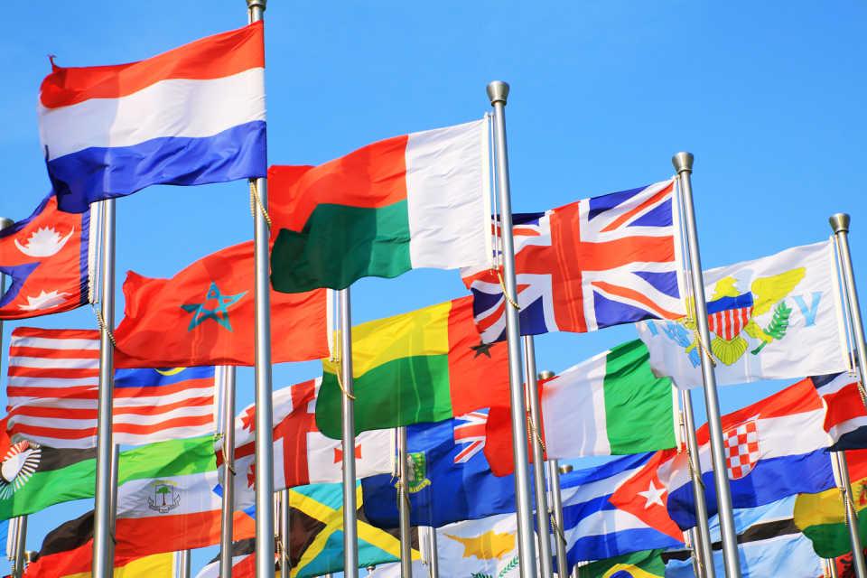 Флагштоки «Олди Свет» – для улиц и площадей