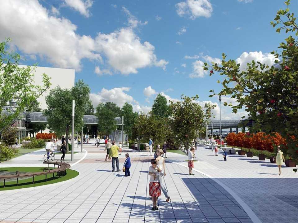 В рамках ТПУ «Лесопарковая» будет построен жилой комплекс с социальной инфраструктурой