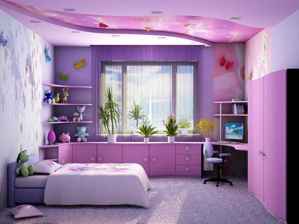 Советы по оформлению детской комнаты