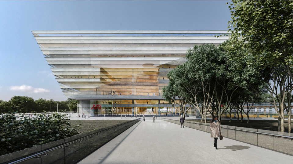 Новая городская библиотека Шанхая