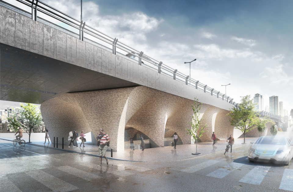 Студия CAAT превратит один из мостов Ирана в музей