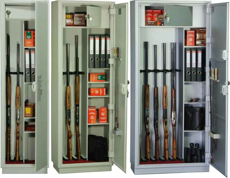 сейфа для хранения оружия