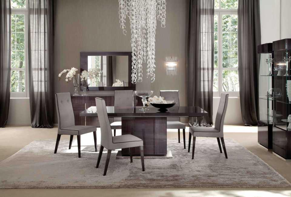 10 видов люстр для интерьера столовой