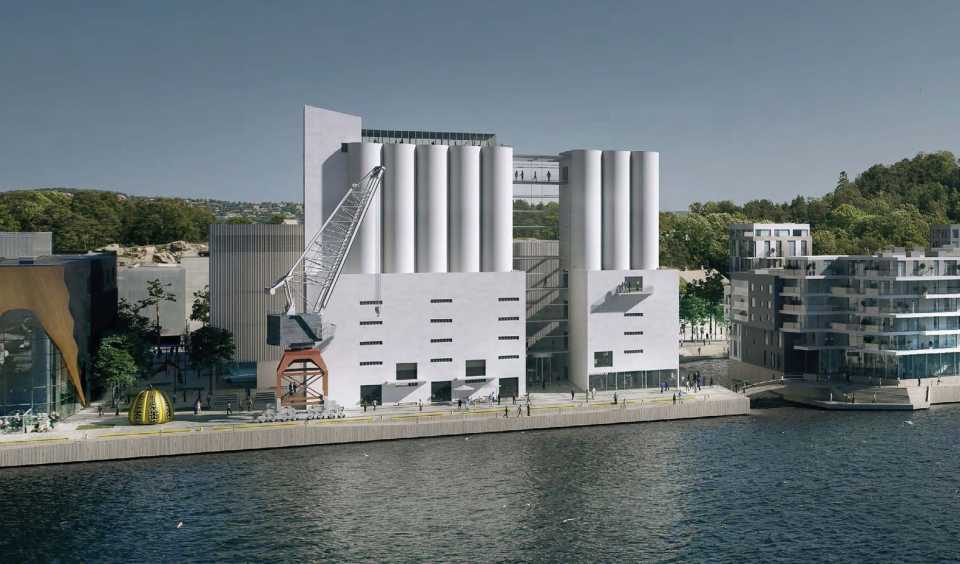 Kulturakse / NA TO WA Architects и Austigard Arkitektur AS