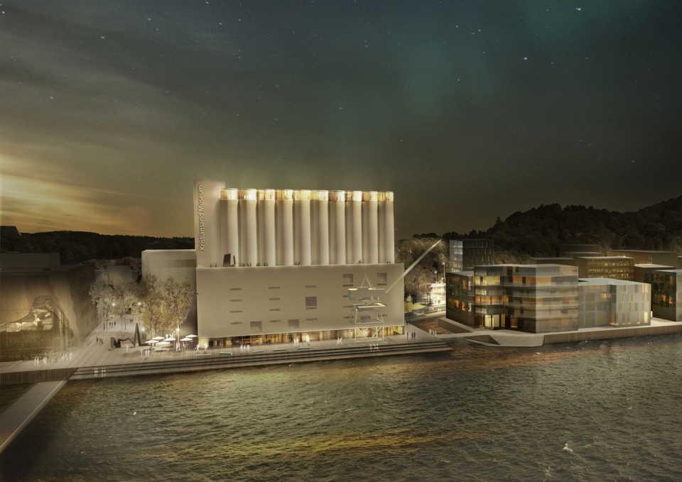 В Норвегии объявлены победители конкурса проектов приспособления элеватора под цели музея искусств