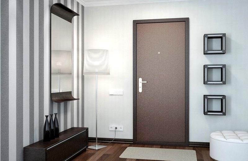 Конструкция современных входных дверей