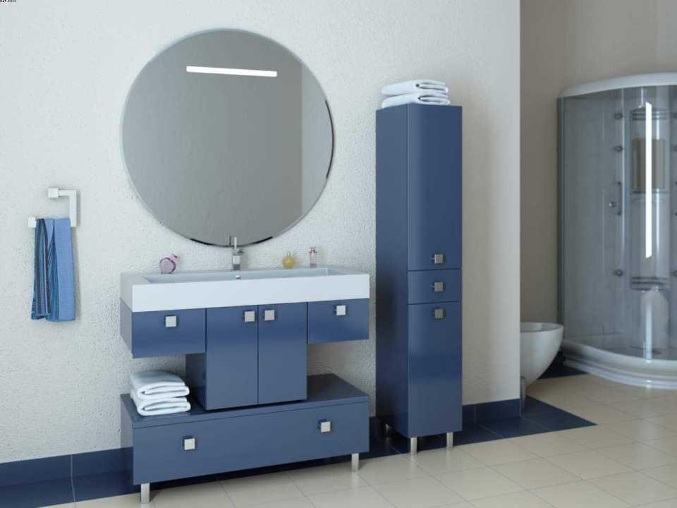 Стильная и современная мебель для ванной