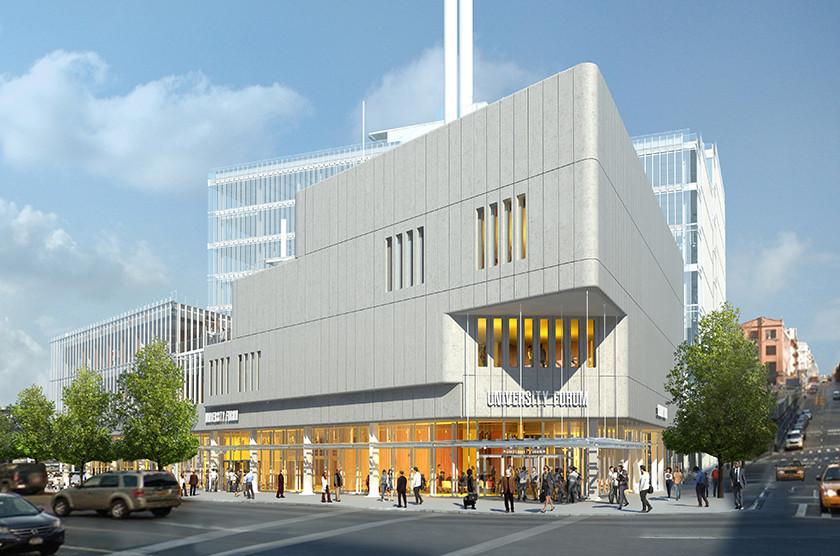 Началось строительство академического центра Колумбийского университета по проекту Ренцо Пиано
