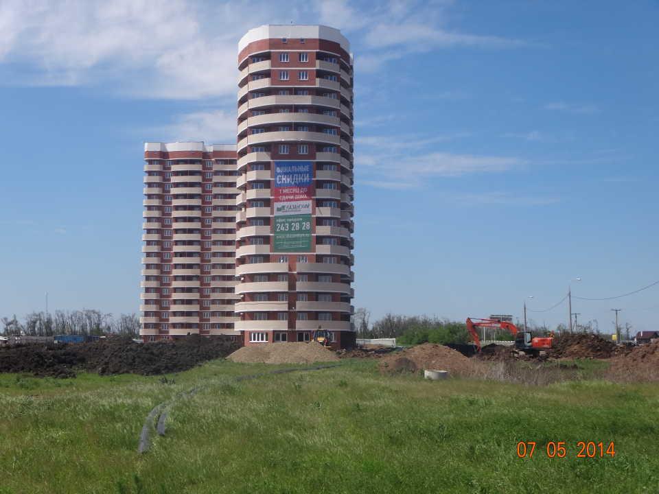 Жилой комплекс «Казанский» в Краснодаре
