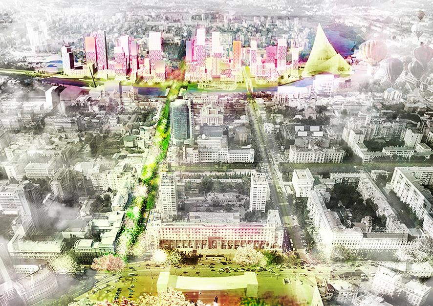 В конкурсе концепций преображения центра Челябинска победил совместный проект de Architekten Cie. и FELIXX