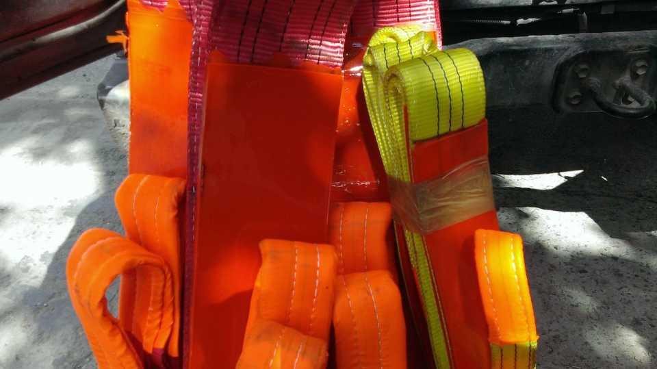 Виды и преимущества текстильных строп