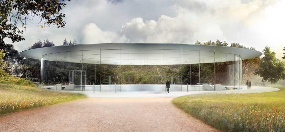 Кампус Apple, построенный в Купертино за $5 млрд на площади более 70 гектаров, откроется в апреле