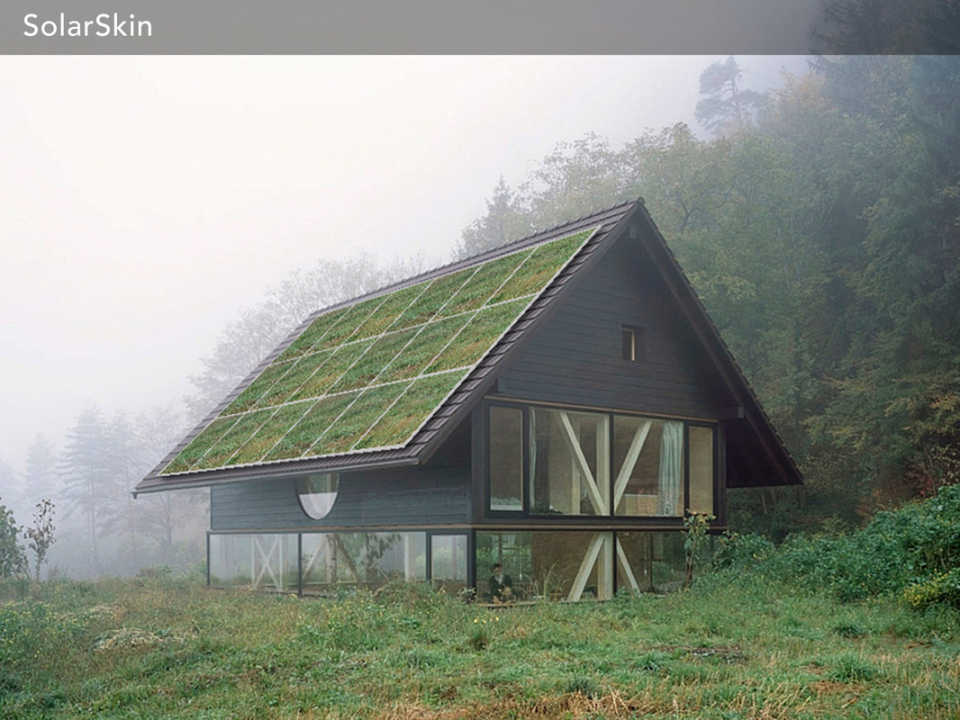Американский старт-ап представил разработанные ими солнечные панели с графическим изображением