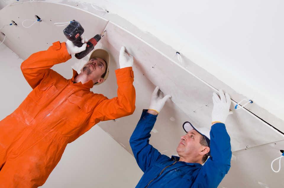 Ремонт натяжных потолков своими руками