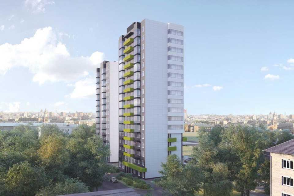 На месте пятиэтажек на улице Самеда Вургуна в САО построят два жилых дома