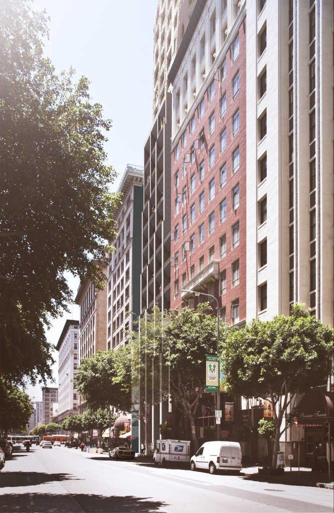 ASAP строит в Лос-Анджелесе отель в форме скалы