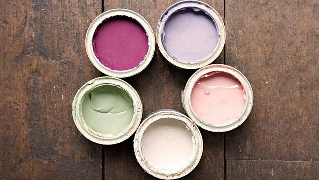 Краски для деревянных потолков