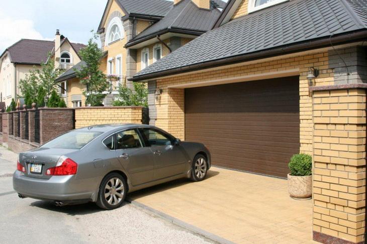 Ремонт гаражных секционных ворот: виды поломок и особенности ремонта