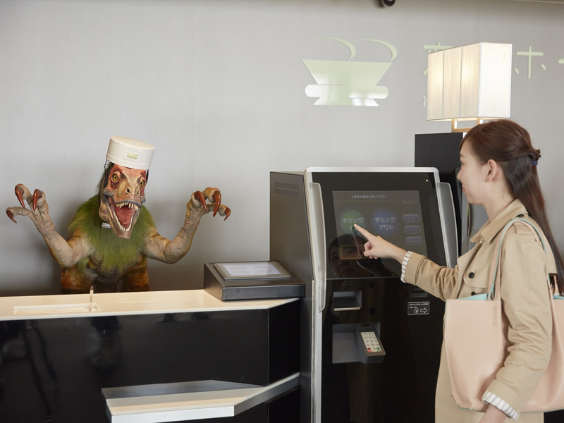 Японская компания планирует открыть по всему миру 100 отелей с роботами в качестве персонала