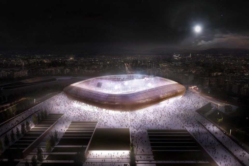 Arup представил проект стадиона для футбольного клуба ACF Fiorentina
