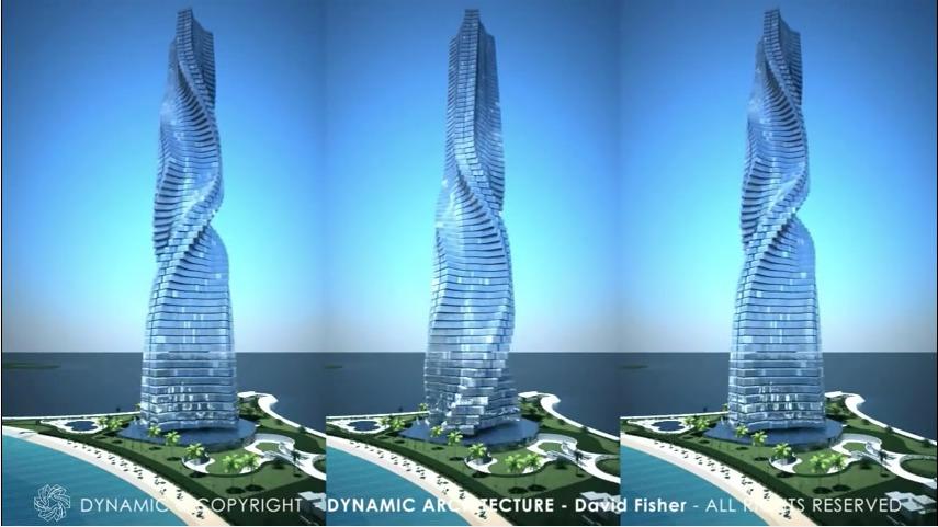 Дубай достигает головокружительных высот: обсуждается проект первого вращающегося небоскреба