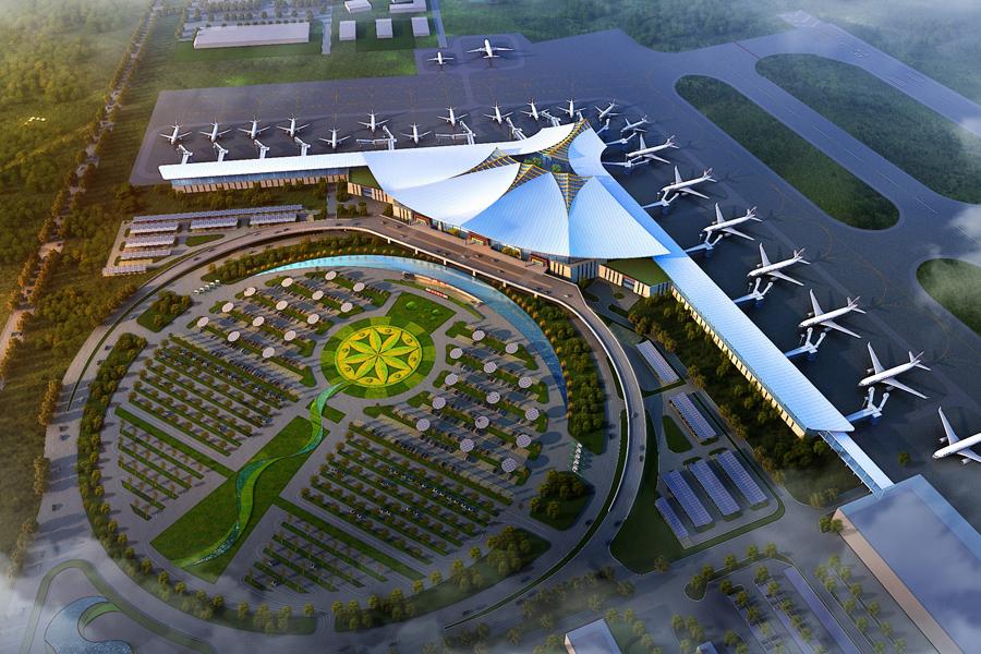 Arup в составе совместного предприятия будет участвовать в расширении аэропорта в Тибете