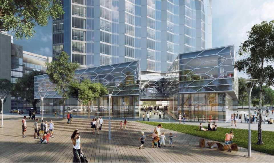 Согласован архитектурный проект жилой башни на территории ЗИЛа