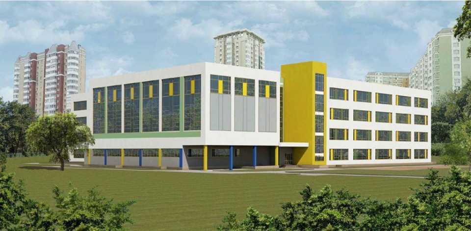 В Бескудниково построят современную школу площадью 10 100 кв.м.