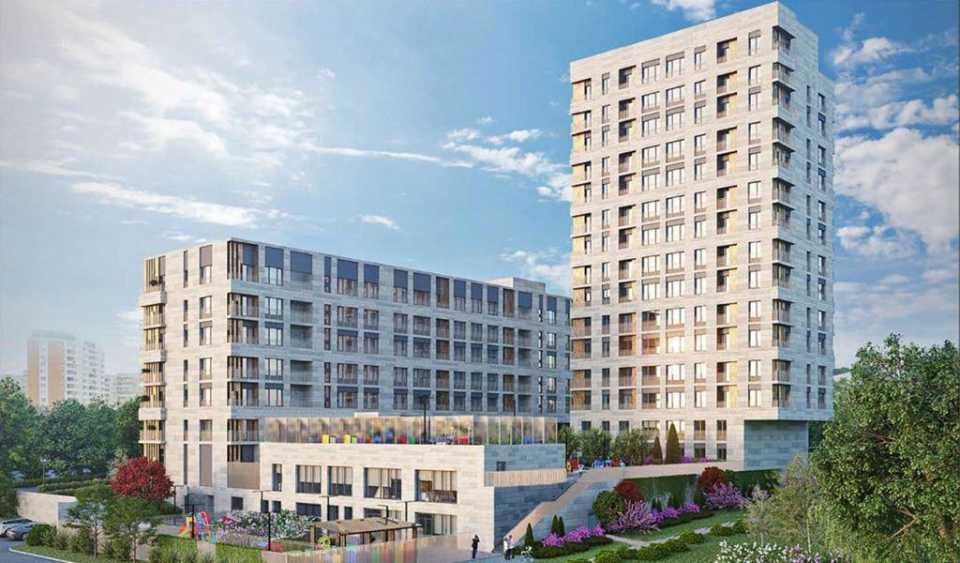 Москомархитектурой утвержден проект жилого дома с пристроенным детским садом в Можайском районе